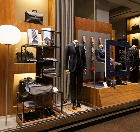Modern Retail Showroom Interior