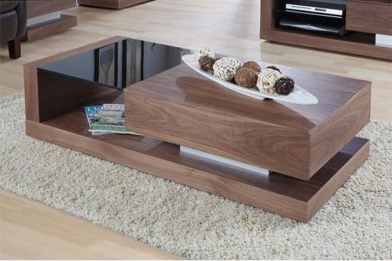 Modern Wooden glass Table Furniture Design