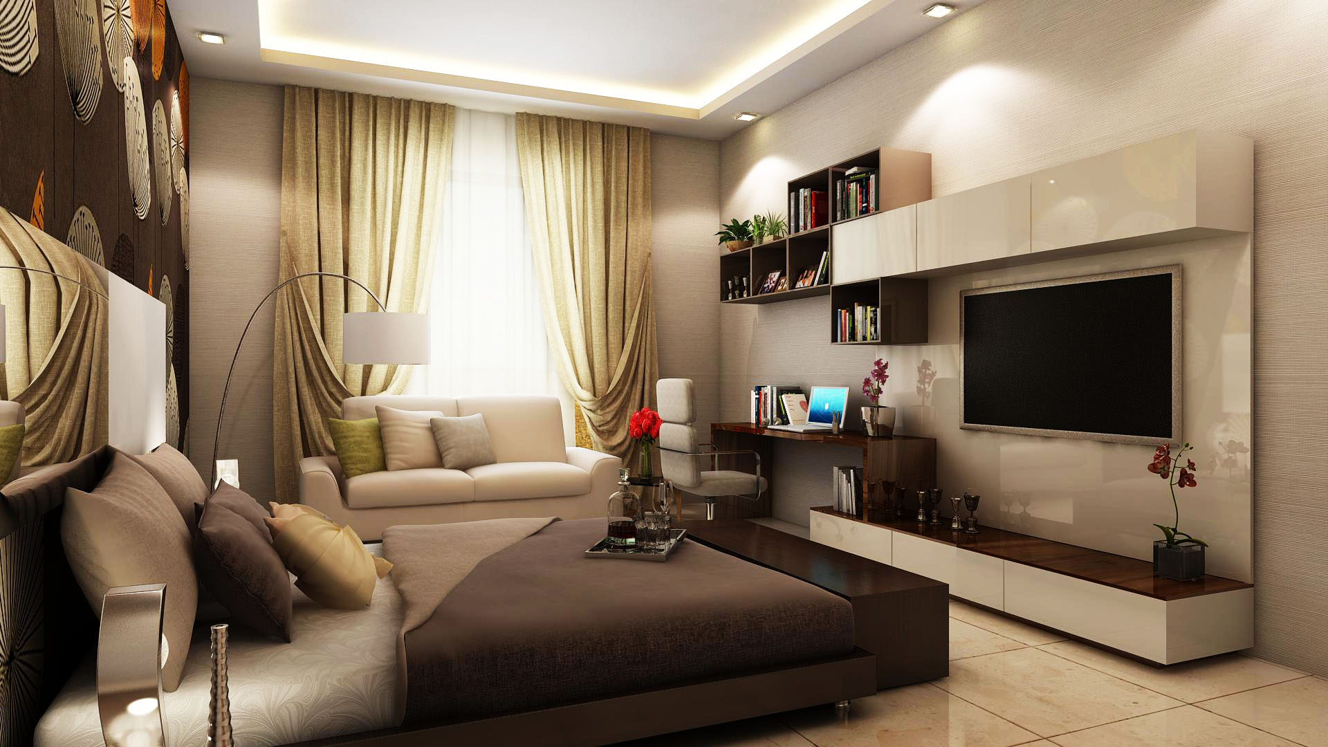 bedroom interior furniture design