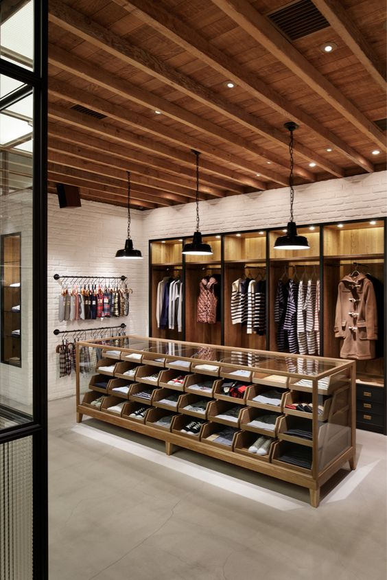 Clothes Showroom Interior
